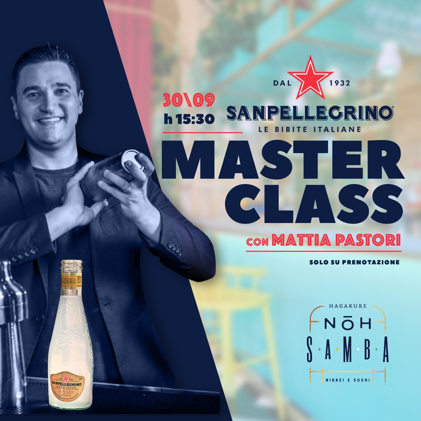 hagakure sushi fusion 30/09 - Hagakure e  Sanpellegrino con Mattia Pastori