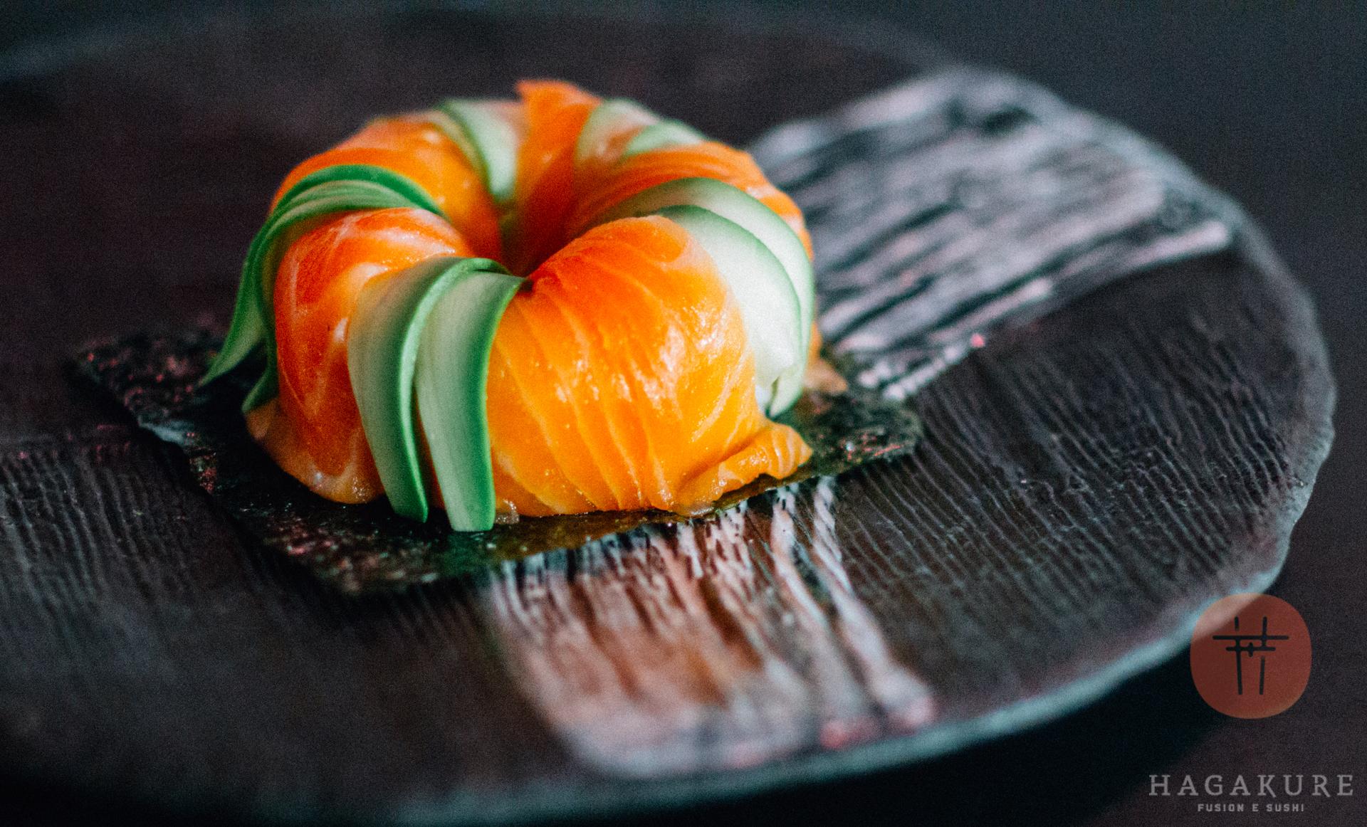 hagakure sushi fusion HAGAKURE WIKI <br> IL SALMONE