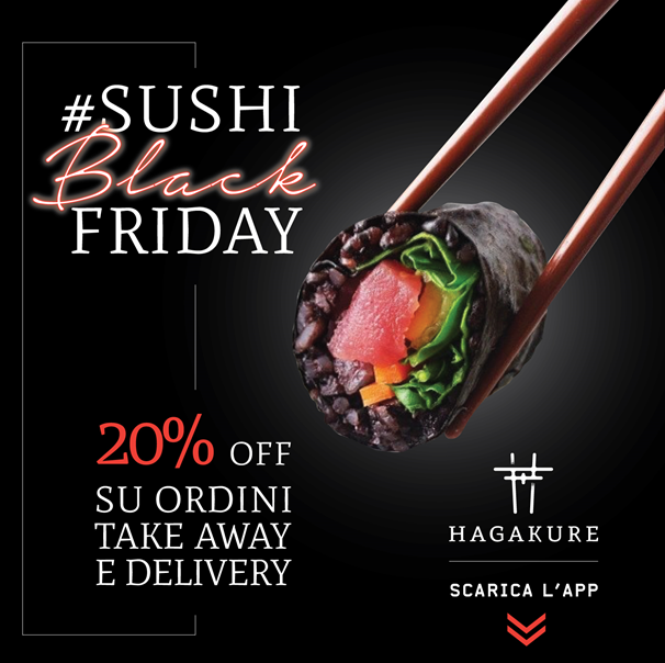 20% OFF | SUSHI BLACK FRIDAY