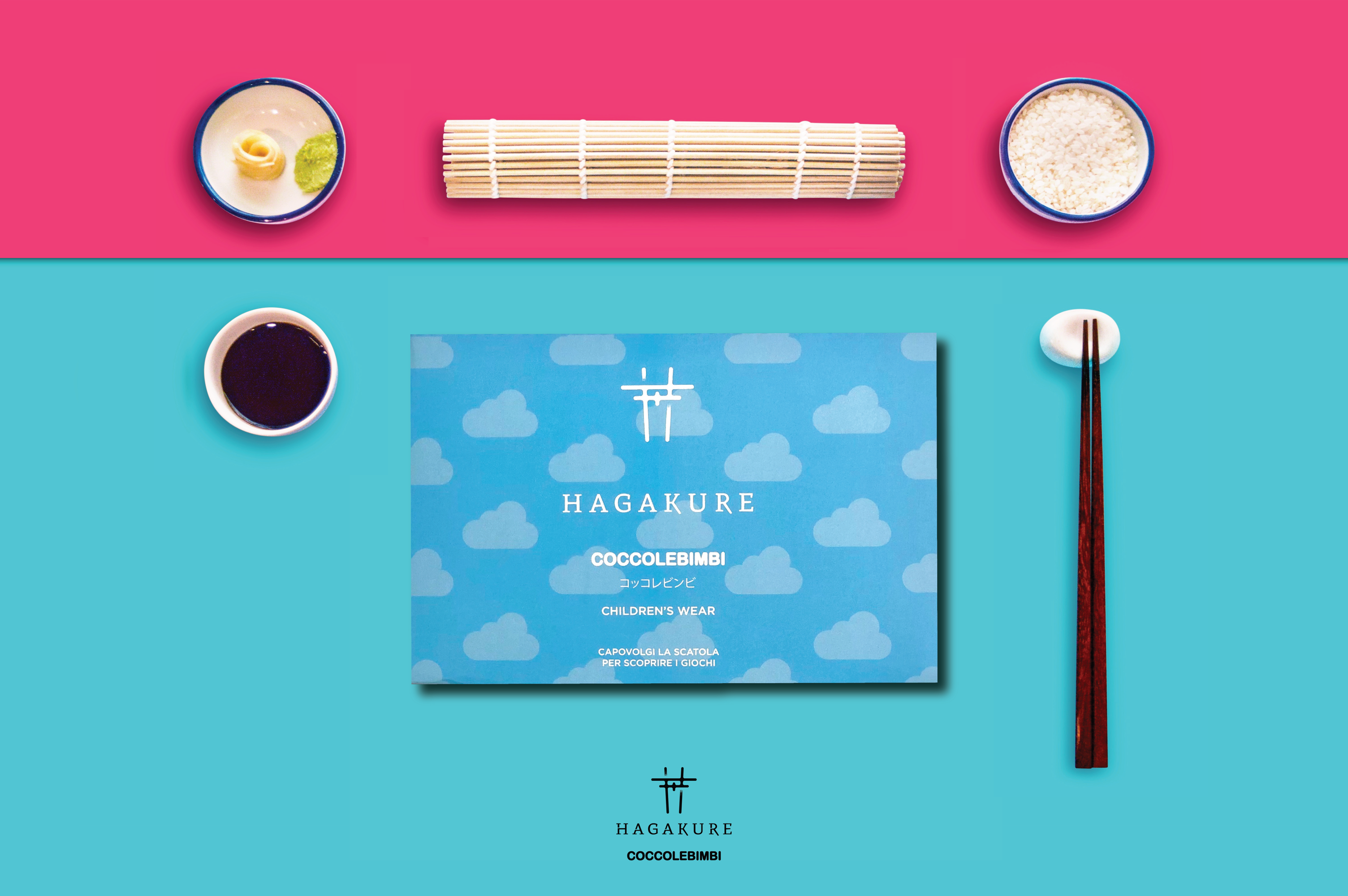 hagakure sushi fusion Coccole Bimbi per Hagakure