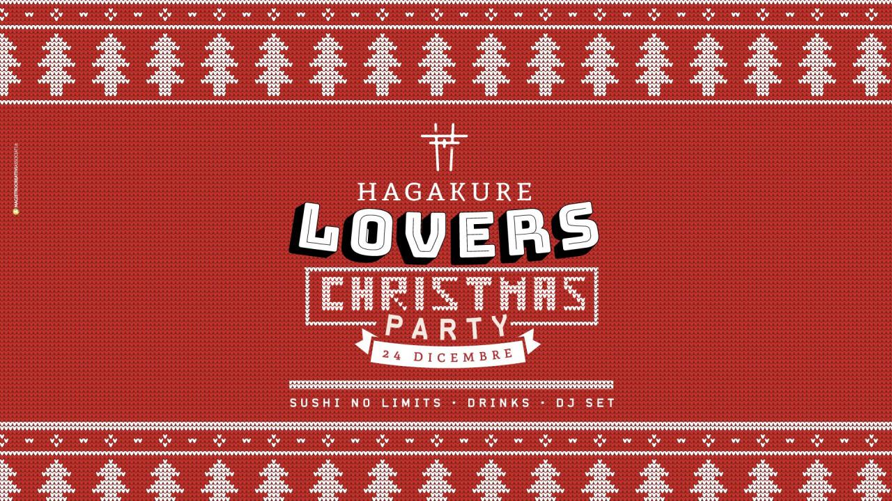 HAGAKURE LOVERS CHRISTMAS PARTY