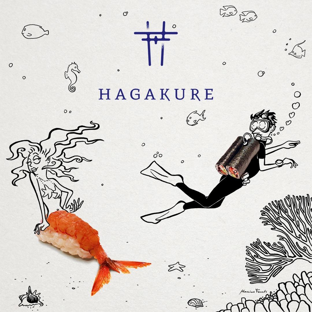 hagakure sushi fusion HAGAKURE SUSHI BOX signed MASSIMO FENATI