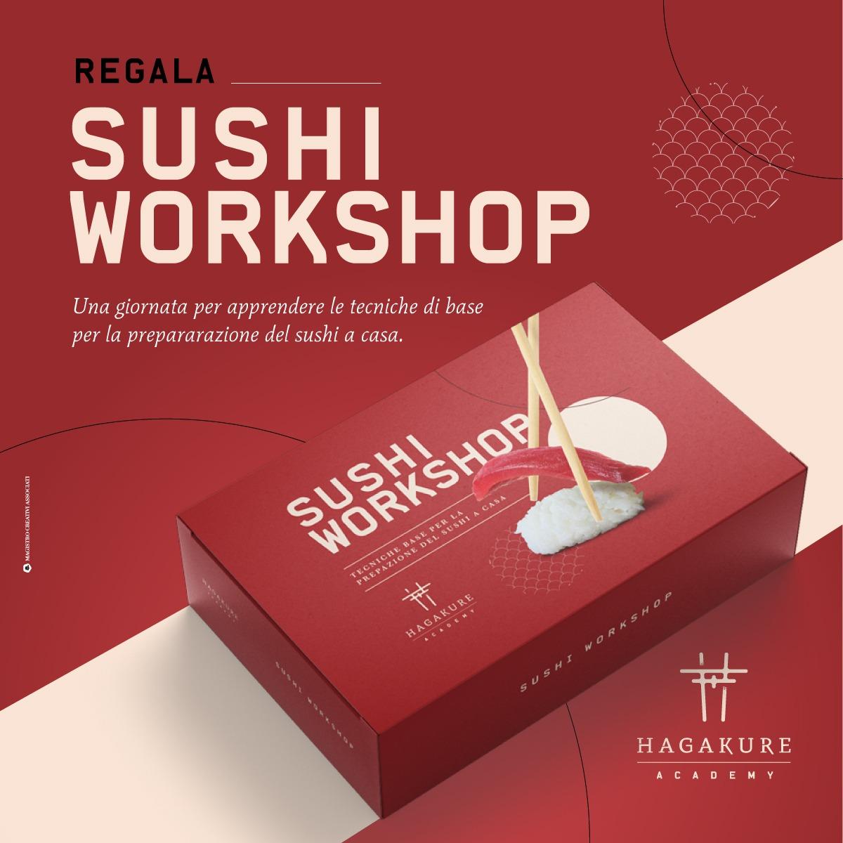 hagakure sushi fusion HAGAKURE SUSHI WORKSHOP - GIFT BOX