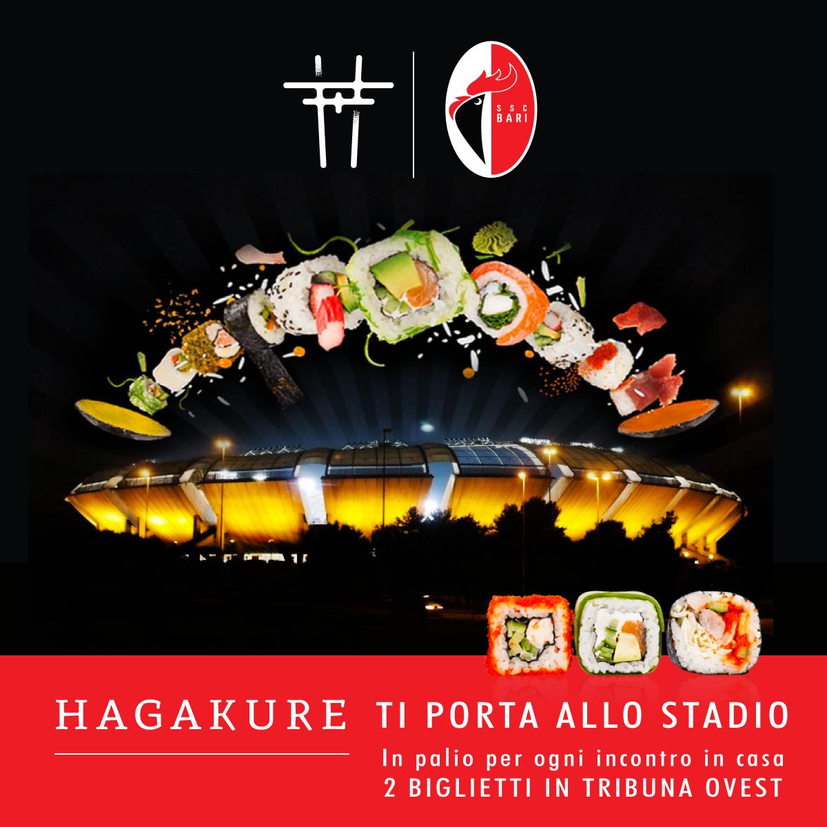 hagakure sushi fusion HAGAKURE TI PORTA ALLO STADIO