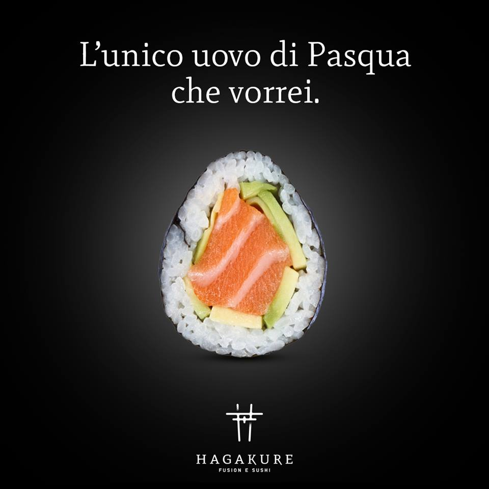hagakure sushi fusion LA PASQUA DI HAGAKURE