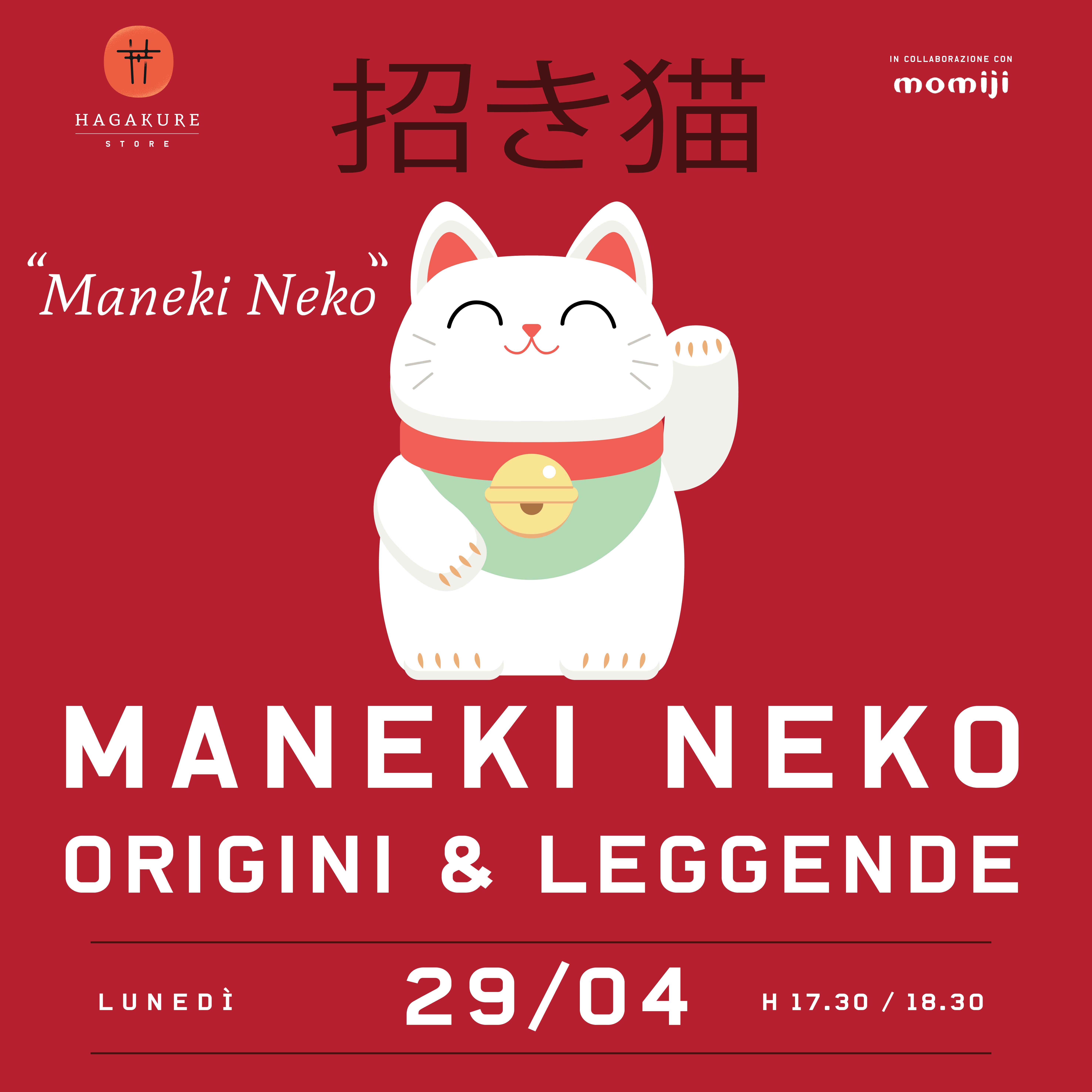 hagakure sushi fusion MANEKI NEKO - ORIGINI E LEGGENDE