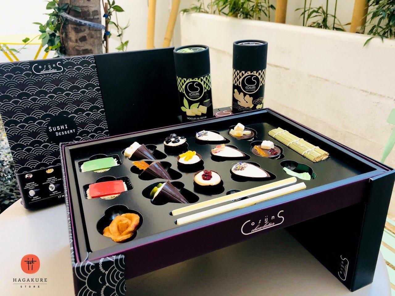 hagakure sushi fusion SUSHI DESSERT CHOCOLATE