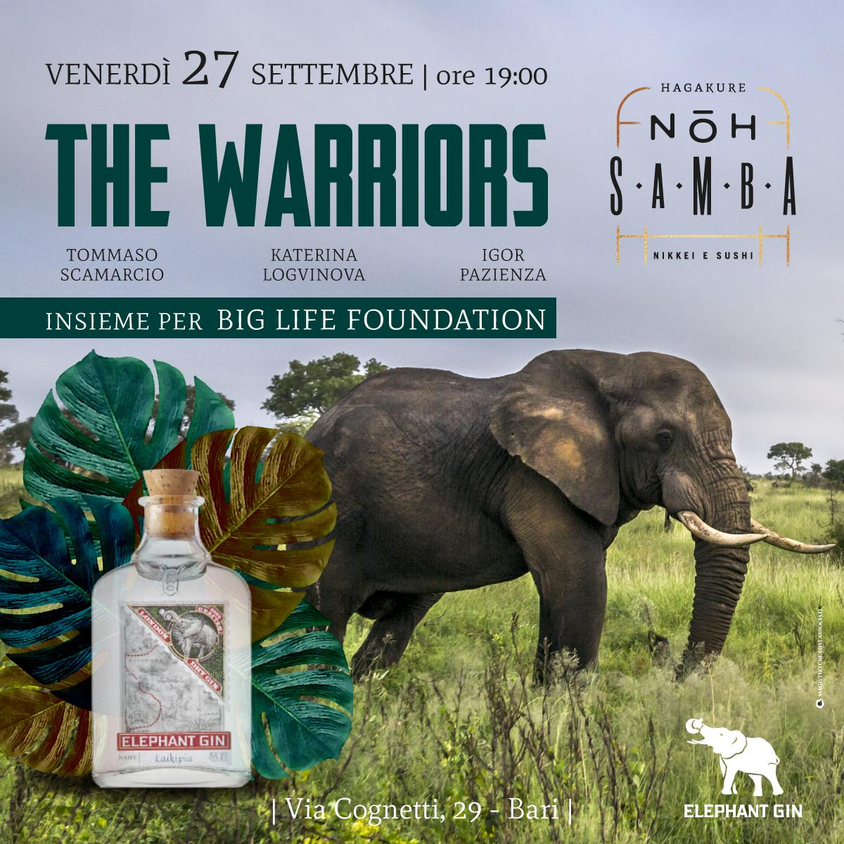 THE WARRIORS by Elephant Gin
